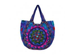 The Living Craft Ethnic Kutch Women's BAG with RABARI Embroidery Multicolor TLCBG0316