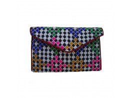 The Living Craft Embroidered Ethnic Women's Clutch