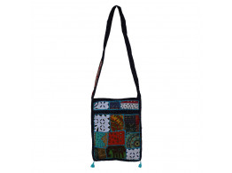The Living Craft MIX PATCHWORK WOMEN's SLING BAG Multicolor TLCBG0233