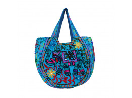 The Living Craft Ethnic Kutch Women's BAG with RABARI Embroidery Multicolor TLCBG0318
