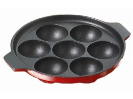 Non Stick Kuzhipaniyaram 7 Scoop - Black