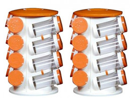 Revolving Spice Jar 16 Pogo (Set of 2)