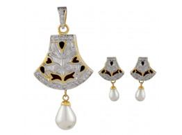 Rajasthani Traditional Meenakari Pendant Set 5842