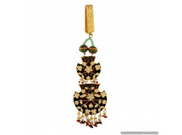 Vatika High Quality True (Pakka) Meenakari Waist Key Chain (Satka) 6