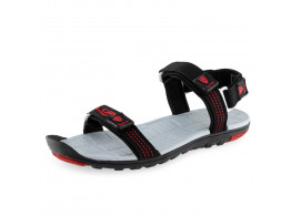 Lancer Men's Sandal - Black Red