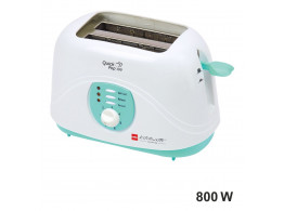 Cello Quick Pop Up 100 , 2 Slice Toaster , Green White