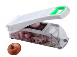 Famous Premium Vegetable & Fruit Cutter Chopper DICER CHIPSER ONION CUTTER - Colours May Vary