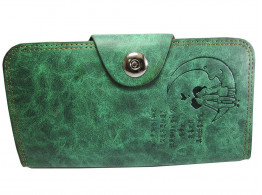 Brown Leaf Women Regular Series Pu Leather Hand wallet clutch for women,Girls,Ladies BL1023