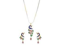 SPE Indian Ethnics Brass Pendant Set for Women (PS-02)