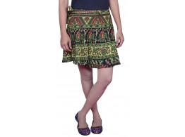 Pezzava Mini Wraparound Skirt