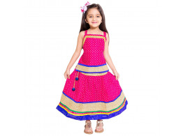 Archiecs Creations Beautiful Lehenga Choli Set Top & Skirt For Girls Diwali & Navaratri Special