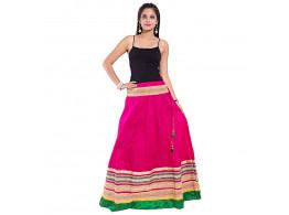 Archiecs Creation Women's Regular Embroidered Skirt (Free Size-SKT516)