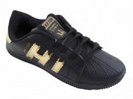 Cocktail Superstar Sneakers - Black
