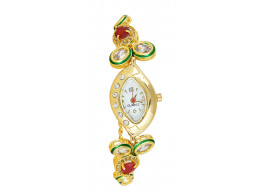 SPE Analog White Dial Women's Watch - BW-03