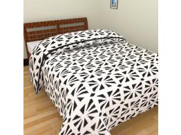 Flower Print Single Bed Blankets