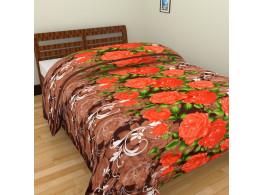 Pink Flower Single Bed Blankets