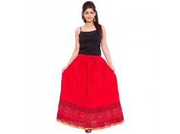 Archiecs Creation Self Design Women's Regular Skirt (Free Size-SKT511)