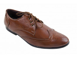 cocktaill brown formal shoes size