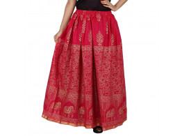 Archiecs Creation Self Design Women's Regular Skirt (Free Size-SKT513)