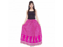 Archiecs Creation Self Design Women's Regular Skirt (Free Size-SKT509)