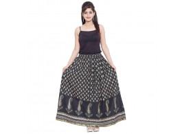 Archiecs Creation Self Design Women's Regular Skirt (Free Size-SKT506)