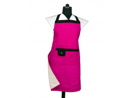 Switchon Waterproof Purple Modern Apron with Front pocket