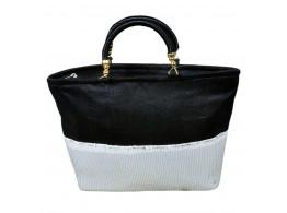 Designer sequente rich look handbag