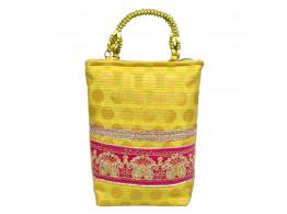 angelfish stylish handbag golden