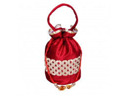 angelfish potali bag red shining velvet