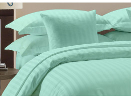 Egyptian Cotton Beddings Bed Sheet With Pillow Covers - Aqua Blue