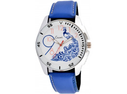 Excel Bluepeacock Analog Watch - For Men