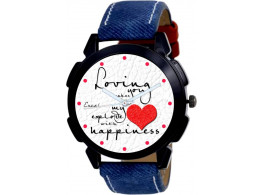 Boy's Excel Quotes Analog Watch
