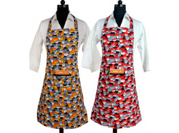 Switchon Printed waterproof cotton Kitchen apron combo