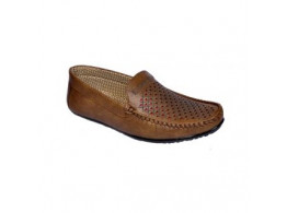 Glamour Brown Loafers (Art-L07)