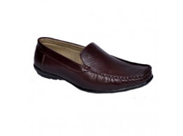 Glamour Brown Loafers (Art-L010)