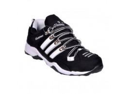 Glamour Black Sports Shoes (Art-CUBA)