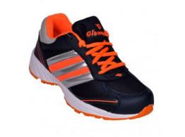 Glamour Blue Orange Sports Shoes (ART-CLASSIC11)