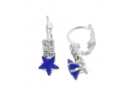 Trinetra Princess Delight Alloy Clip-on Earring