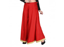 Elasticated Waist Cotton Trousers