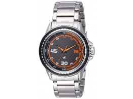 Fastrack 3142SM01 Analog Grey Dial Men's Watch