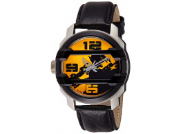 Fastrack 3153KL02 Analog Yellow Dial Men's Watch