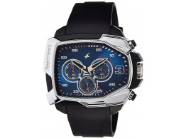 Fastrack 38005PP02 Chronograph Blue Dial Men Watch