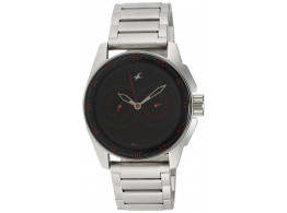 Fastrack NE3089SM06 Black Magic Analog Black Dial Men Watch