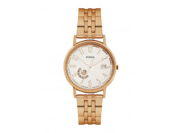 Fossil ES2197I Women White Dial Watch