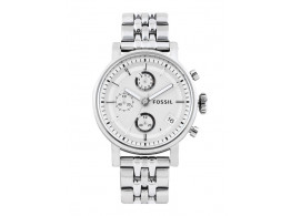 Fossil ES2198I Women Silver Toned Dial Watch