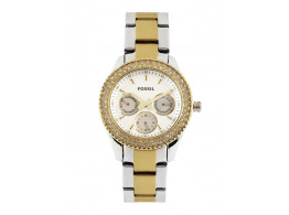Fossil ES2944I Women White Dial Watch
