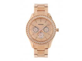 Fossil ES3003 Women Rose Gold Watch