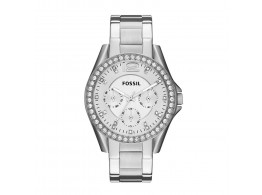 Fossil ES3202 Analog Silver Dial Women Watch