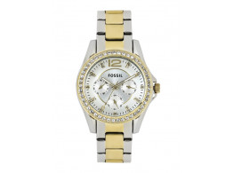 Fossil ES3204I Women Silver Toned Dial Watch