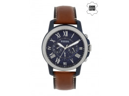 Fossil FS5151I Men Blue Dial Chronograph Watch